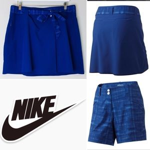 Nike Golf Convert Detachable Skort and Short Set